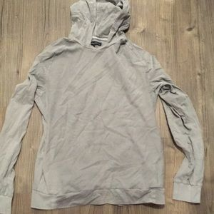 Men's Kenneth Cole waffle hoodie shirt L
